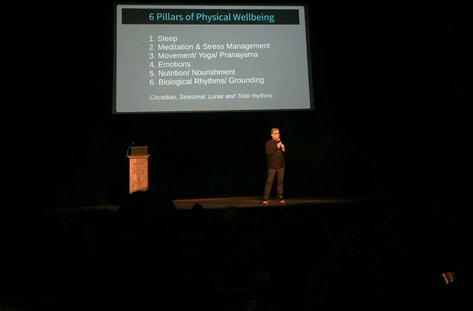 The Healing Self | Deepak Chopra shares 6 pillars of physical wellbeing